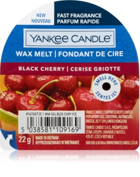 Yankee Candle Black Cherry cera per lampada aromatica I.