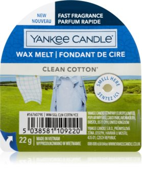 Yankee Candle Clean Cotton smeltevoks I.