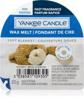 Yankee Candle Soft Blanket vosek za aroma lučko  I.