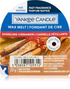 Yankee Candle Sparkling Cinnamon воск для ароматической лампы