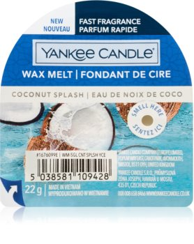 Yankee Candle Coconut Splash duftwachs für aromalampe