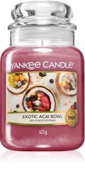 Yankee Candle Exotic Acai Bowl bougie parfumée