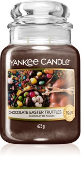 Yankee Candle Chocolate Easter Truffles bougie parfumée Classic grande