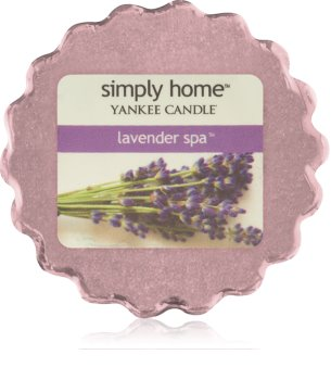 Yankee Candle Lavender Spa cera derretida aromatizante