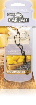 Yankee Candle Lemon Lavender hanging car air freshener