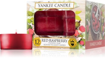 Yankee Candle Red Raspberry candela scaldavivande