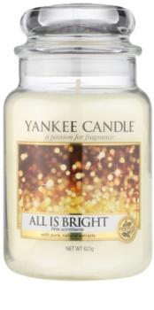 Yankee Candle All is Bright dišeča sveča