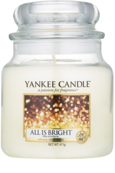 Yankee Candle All is Bright ароматна свещ  Classic средна
