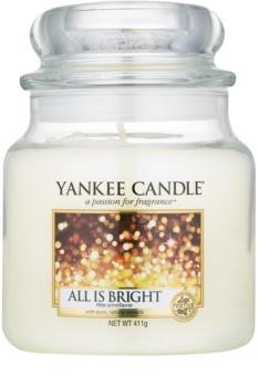 Yankee Candle All is Bright lumânare parfumată  Clasic mediu
