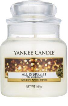 Yankee Candle All is Bright świeczka zapachowa  Classic mała