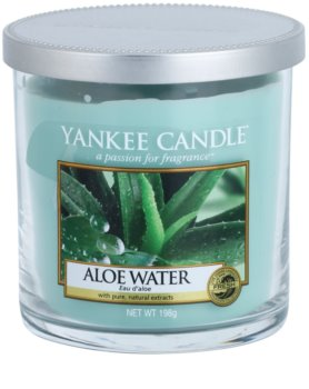 Yankee Candle Aloe Water vela perfumada  198 g Décor Mini