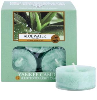 Yankee Candle Aloe Water vela de té 12 x 9,8 g