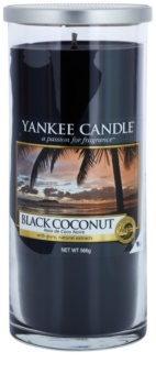 Yankee Candle Black Coconut vela perfumado 566 g Décor grande