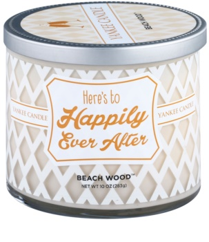 Yankee Candle Beach Wood vela perfumada  283 g  (Here´s to Happily Ever After)