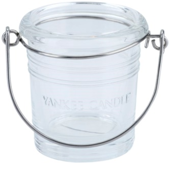 Yankee Candle Glass Bucket portavelas de vidrio I. Clear glass