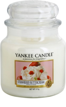 Yankee Candle Strawberry Buttercream vela perfumada  Classic mediana