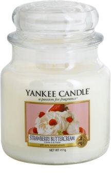 Yankee Candle Strawberry Buttercream vela perfumada Classic médio