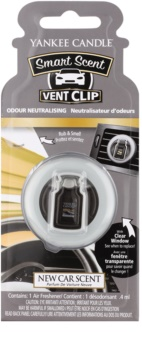 Yankee Candle New Car Scent ambientador auto clip