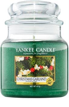 Yankee Candle Christmas Garland vela perfumado 411 g Classic médio