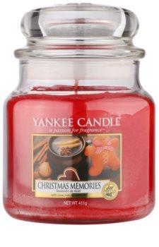 Yankee Candle Christmas Memories vela perfumada Classic médio