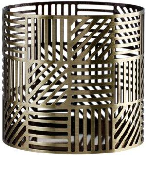 Yankee Candle Crosshatch Brass velas perfumadas para candeeiro Décor