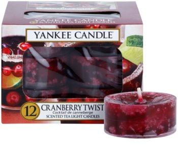 Yankee Candle Cranberry Twist vela de té 12 x 9,8 g