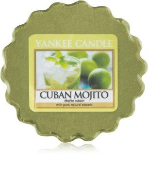 Yankee Candle Cuban Mojito cera para lámparas aromáticas