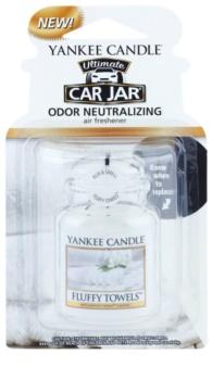 Yankee Candle Fluffy Towels illat autóba felakasztható autóillatosító
