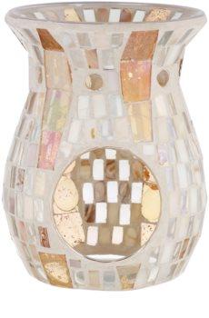 Yankee Candle Gold Wave Mosaic lámpara aromática de cristal