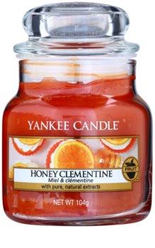 Yankee Candle Honey Clementine vela perfumada  104 g Classic pequeña