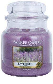 Yankee Candle Lavender vela perfumada Classic médio