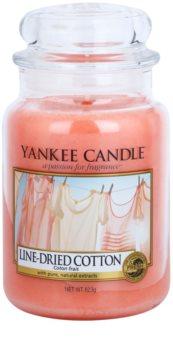 Yankee Candle Line - Dried Cotton świeczka zapachowa  623 g Classic duża