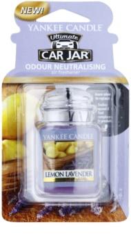 Yankee Candle Lemon Lavender car air freshener hanging