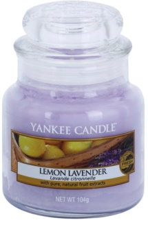 Yankee Candle Lemon Lavender αρωματικό κερί Κλασικό μικρό