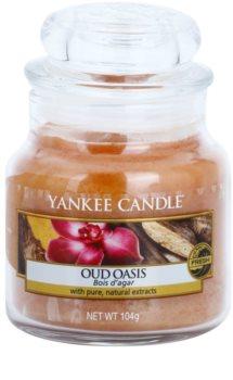 Yankee Candle Oud Oasis vela perfumada  104 g Classic pequeña