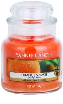 Yankee Candle Orange Splash vela perfumada  104 g Classic pequeña