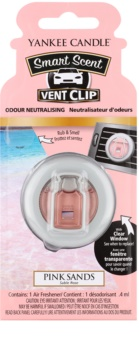Yankee Candle Pink Sands ambientador auto clip