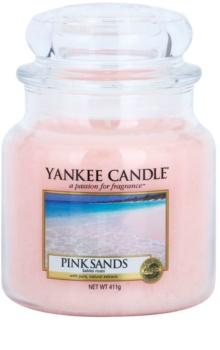 Yankee Candle Pink Sands vela perfumada Classic médio