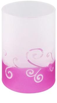 Yankee Candle Purple Scroll stakleni svijećnjak za lučice