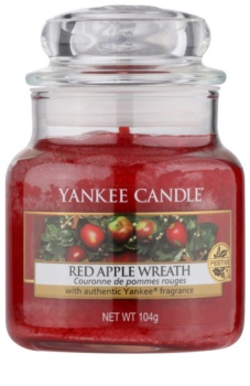 Yankee Candle Red Apple Wreath αρωματικό κερί Κλασικό μικρό