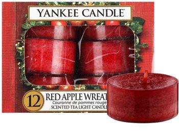 Yankee Candle Red Apple Wreath vela do chá