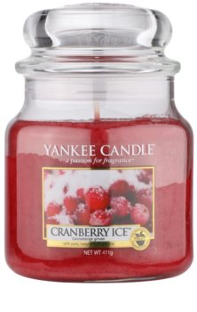 Yankee Candle Cranberry Ice Classic mediana