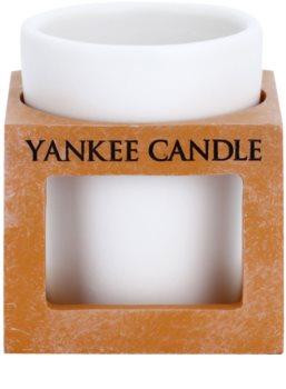 Yankee Candle Rustic Modern ceramiczny świecznik na sampler