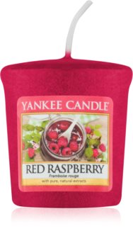 Yankee Candle Red Raspberry mala mirisna svijeća bez staklene posude