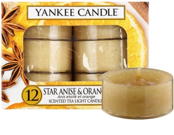 Yankee Candle Star Anise & Orange vela do chá 12 x 9,8 g