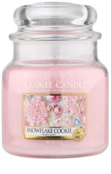 Yankee Candle Snowflake Cookie mirisna svijeća Classic srednja