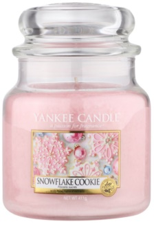 Yankee Candle Snowflake Cookie świeczka zapachowa  Classic średnia