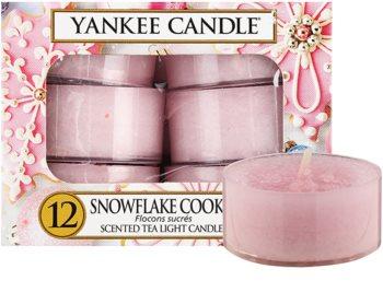 Yankee Candle Snowflake Cookie vela de té