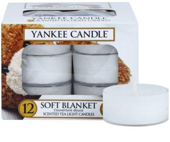 Yankee Candle Soft Blanket vela de té 12 x 9,8 g