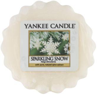 Yankee Candle Sparkling Snow tartelette en cire